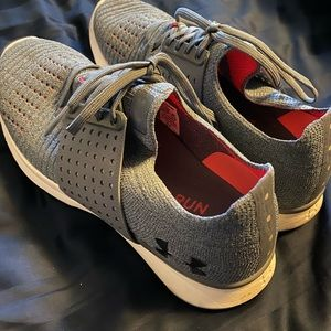 Grey & Pink Under Armour Women's shoes size 10